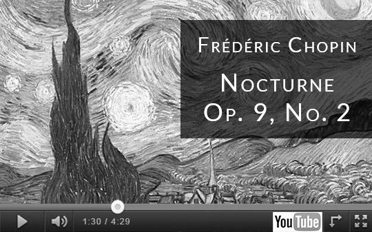 nocturnes de chopin youtube